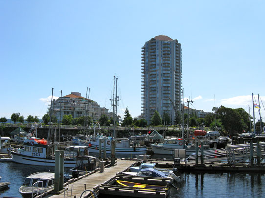 Photo of the Nanaimo Harbour