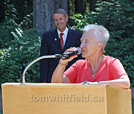 Photo of Anne Klees Is The Lady Who Started The 'Save The Forest' fund raising Campaign