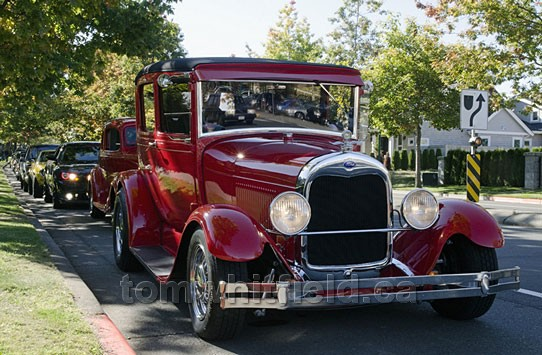 Photo of Antique Cars Abound In The Qualicum Area