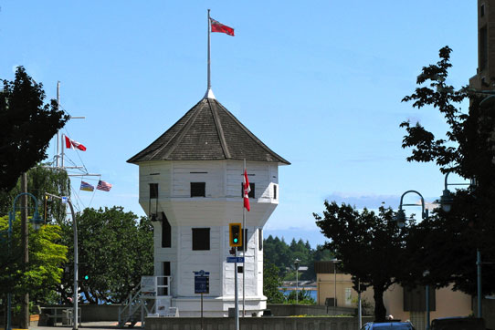 Photo of the the famous Bastion in downtown Nanaimo