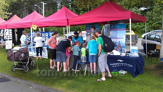 Photo of Vancouver Island University Display